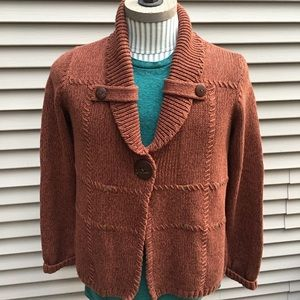 NWT Christopher & Banks 1-button cardigan sweater